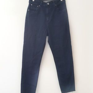 ASOS high rise mom jean style size 24
